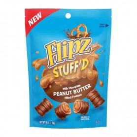 Flipz stuff'd milk chocolate peanut butter 170G