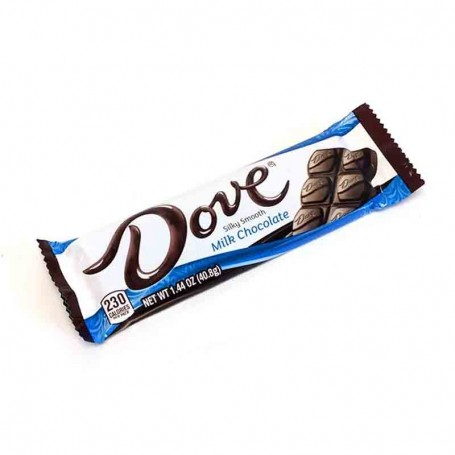 Dove milk chocolate bar
