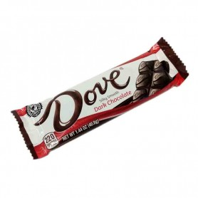 Dove dark chocolate bar