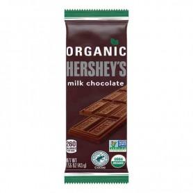 Hershey's organic milk chocolate bar