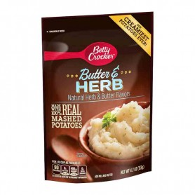 Betty crocker sour butter and herb mashed potatoes