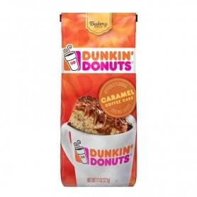 Dunkin donuts café caramel coffee cake