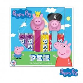 Pez gift set peppa pig princess pepa & pirate george