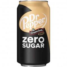 Dr pepper and cream soda zero sugar