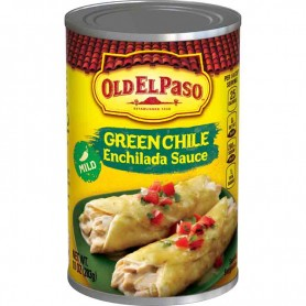 Old el paso red enchilada sauce green chile