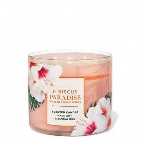 BBW bougie hibiscus paradise