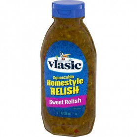 Vlasic squeezable homstyle relish sweet relish