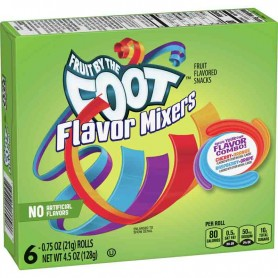 Fruit by the foot flavor mixers