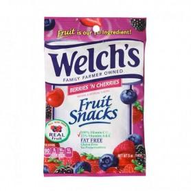 Welch's fruit snacks berries'n cherries