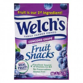 Welch's fruit snacks concord grape