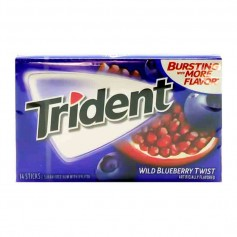 Trident wild blueberry twist