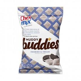 Chex mix muddy buddies cookies and cream