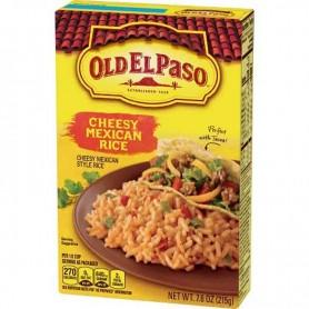 Old el paso cheesy mexican rice