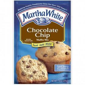 Martha chocolate chip muffin mix