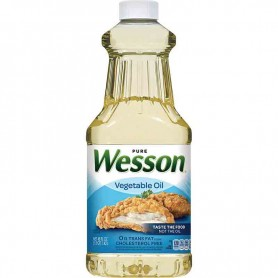 Pure wesson vegetable oil