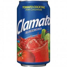 Clamato tomato cocktail  can
