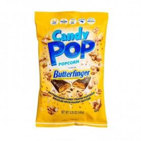 Candy pop corn butterfinger