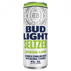 Bud light achoholic sparkling water lemon lime
