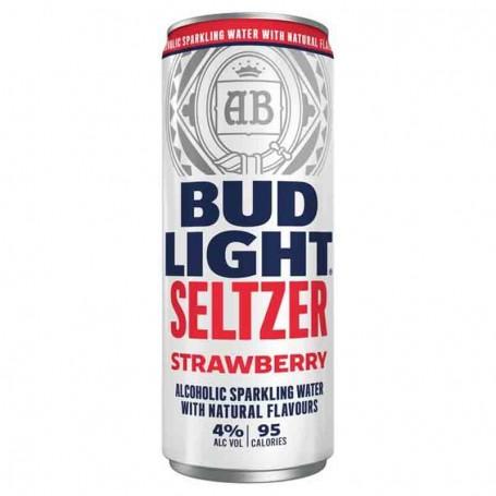 Bud light achoholic sparkling water strawberry