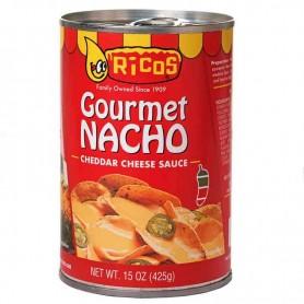 Ricos gourmet nacho cheddar cheese sauce