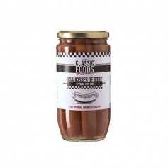 Classic food saucisse de boeuf