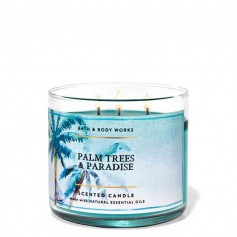 BBW bougie palm trees and paradise