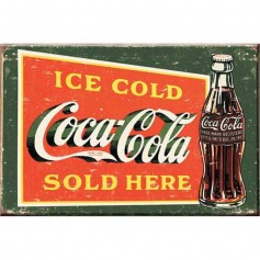 Magnet coke ice cold green