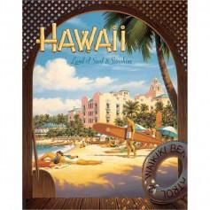 Plaque metal ericson hawaii