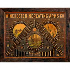 Plaque métal winchester repeating arms