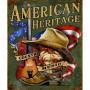 Plaque métal american country