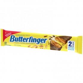 Butterfinger peanut butter bar share pack 2 pieces