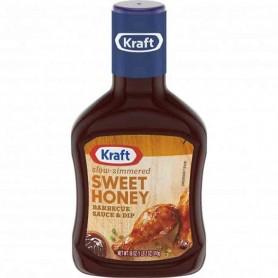 Kraft sweet honey bbq sauce