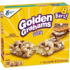 Golden grahams s'mores treats pack de 8