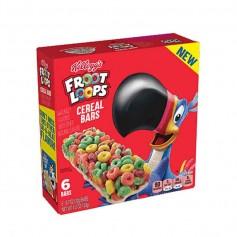Froot loops cereal bars pack de 6
