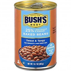 Bush's baked beans sweet and tangy 454G