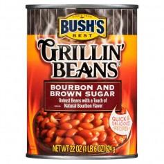 Bush's grillin' beans bourbon and brown sugar 624G