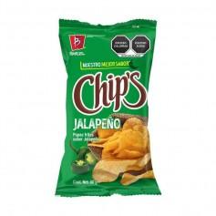 Barcel chips jalapeño 60G