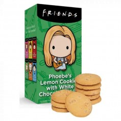Friends phoebe's lemon cookies with white chocolate chips