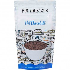 Friends hot chocolate pouch