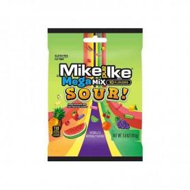 Mike and ike mega mix sour bag 141G