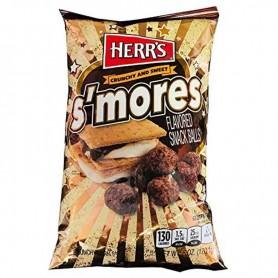 Herr's s'mores snacks ball
