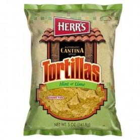Herr's tortillas hint of lime
