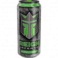 Reign energy drink jalapeño strawberry