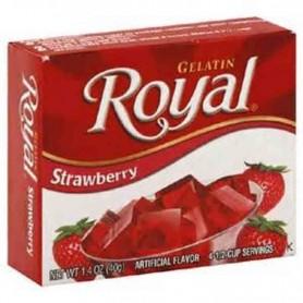 Royal gelatin strawberry