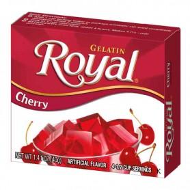 Royal gelatin cherry