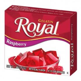 Royal gelatin raspberry