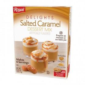 Royal delights salted caramel dessert mix
