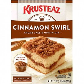 Krusteaz cinnamon swirls cake mix