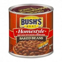 Bush's baked beans homestyle 454G