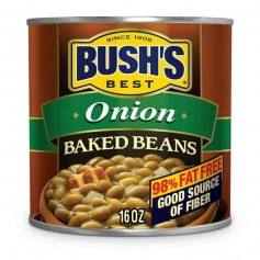 Bush's baked beans onion 454G